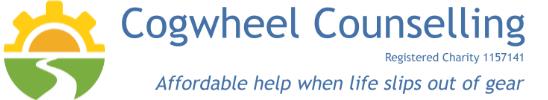 Cogwheel Counselling Logo