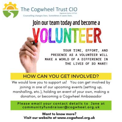 Cogwheel-Volunteering