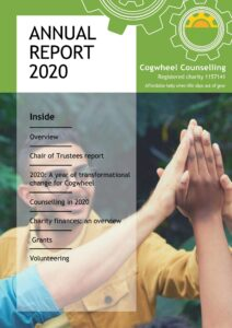 Cover of Cogwheel Annual Report 2020
